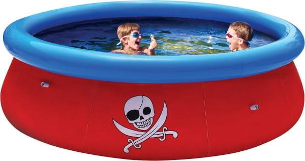 Надувной бассейн с 3D рисунком Bestway 57243 Fast Set 274х76 см