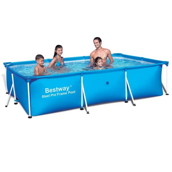 Каркасный прямоугольный бассейн Bestway 300х201х66 см