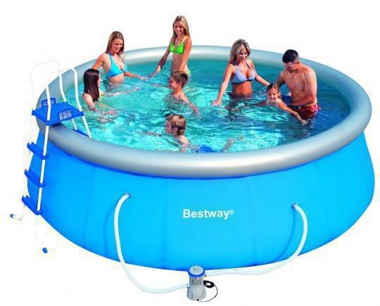 Надувной бассейн Bestway 457х122 см