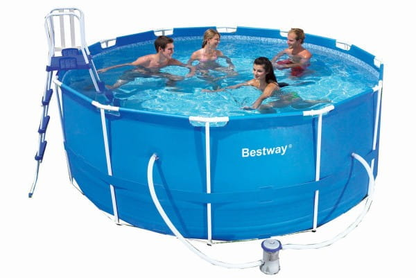 Каркасный круглый бассейн Bestway 366х122 см