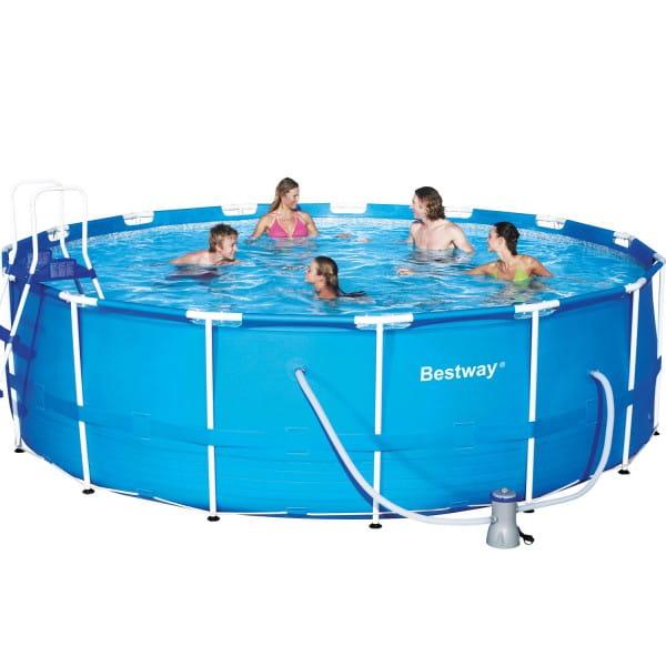 Каркасный бассейн Bestway 56100 457х122 см