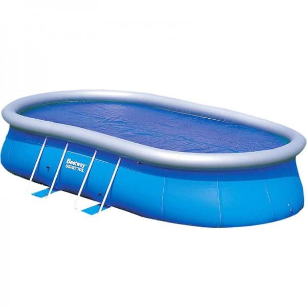 Надувной овальный бассейн Bestway 549х366х122 см