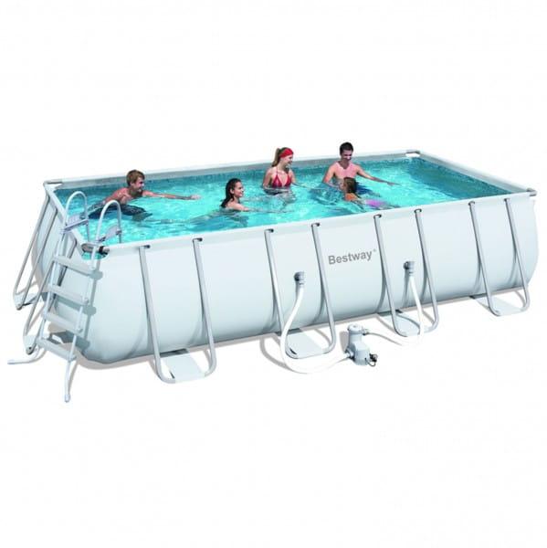 Каркасный прямоугольный бассейн Bestway 549х274х22 см