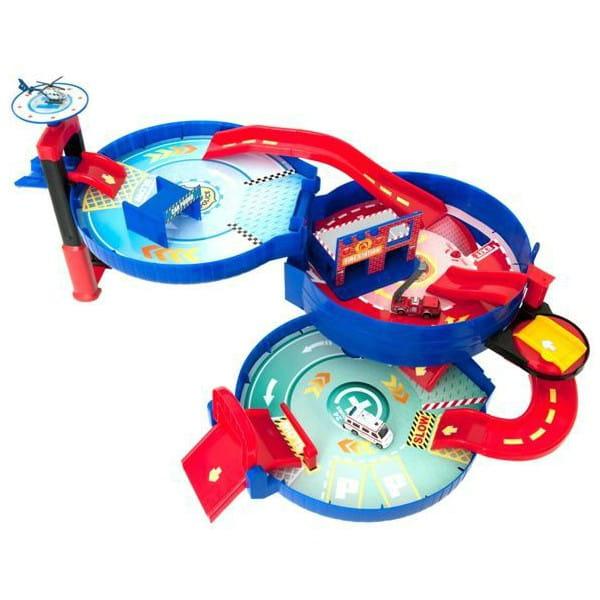 Купить Центр спасательной службы в колесе HTI (3 уровня) в интернет магазине игрушек и детских товаров