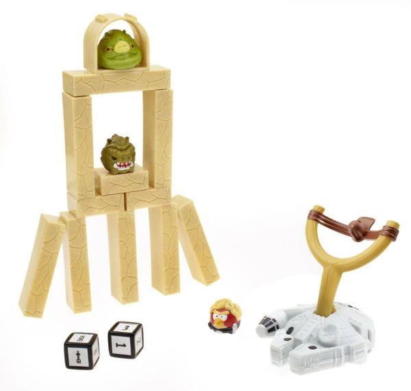 Купить Настольная игра Anrgy Birds Star Wars Jenga (Дженга) Сражение Tatooine (Hasbro) в интернет магазине игрушек и детских товаров
