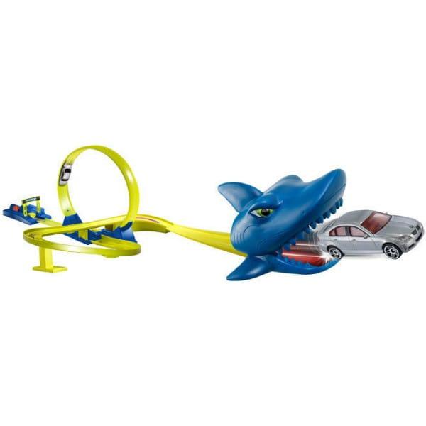 Купить Автотрек Акула и 2 автомобиля HTI в интернет магазине игрушек и детских товаров