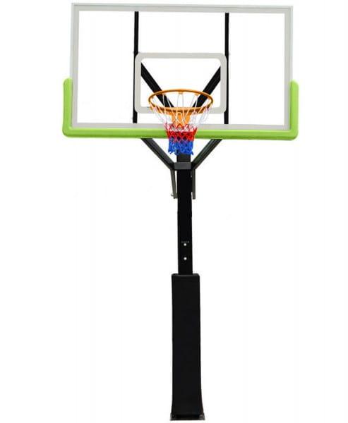 Купить Баскетбольная стационарная стойка DFC 72 поликарбонат в интернет магазине игрушек и детских товаров