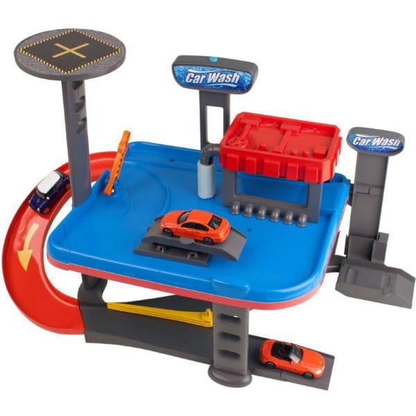 Купить Двухуровневый гараж HTI Автомойка в интернет магазине игрушек и детских товаров