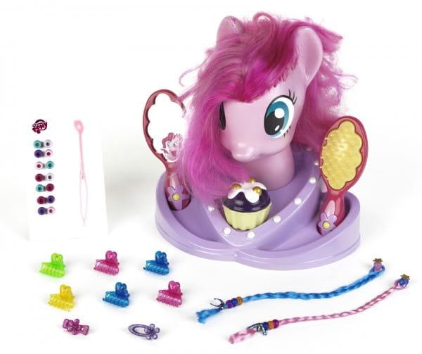 Игровой набор Klein 5243 Кукла-торс для причесок My Little Pony (с аксессуарами)