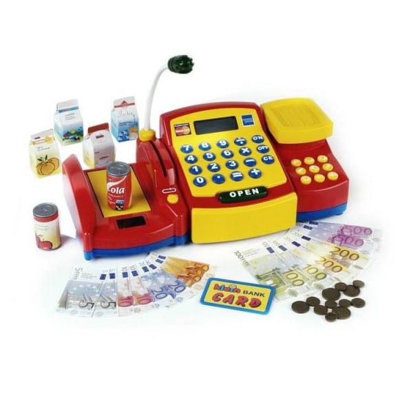 Купить Касса Klein (с аксессуарами) в интернет магазине игрушек и детских товаров