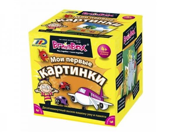Сундучок знаний Brainbox 90710 Мои первые картинки