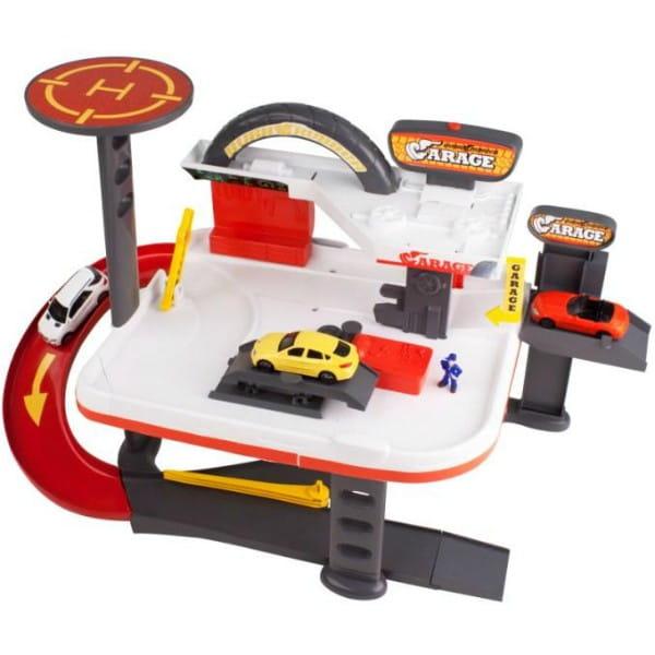 Купить Двухуровневый гараж HTI Автосервис в интернет магазине игрушек и детских товаров