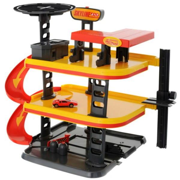 Купить Многоуровневый гараж HTI Скайлайн в интернет магазине игрушек и детских товаров