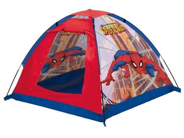 Купить Палатка John Человек-Паук (синяя) в интернет магазине игрушек и детских товаров