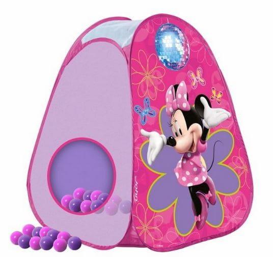 Купить Палатка John Минни (с 30 шариками) в интернет магазине игрушек и детских товаров