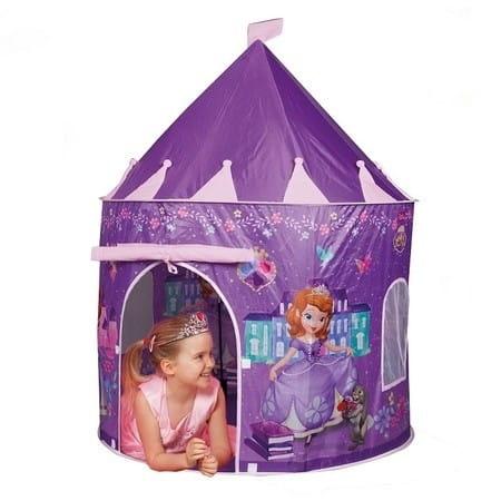 Купить Палатка в форме замка John София Прекрасная в интернет магазине игрушек и детских товаров