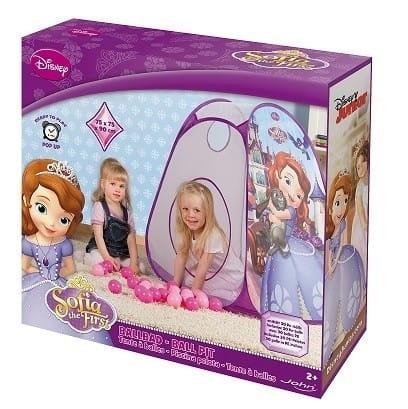 Купить Палатка John София Прекрасная (с 30 шариками) в интернет магазине игрушек и детских товаров