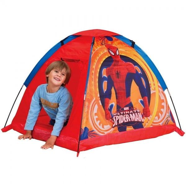 Купить Палатка John Человек-Паук (красная) в интернет магазине игрушек и детских товаров