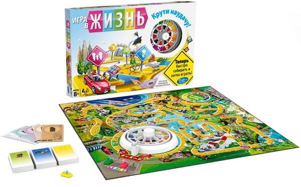 Настольная игра Hasbro Игра в жизнь