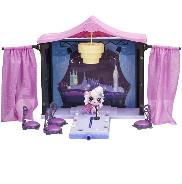Игровой набор Littlest Pet Shop Pet Shop Стильный подиум для показа мод (Hasbro)