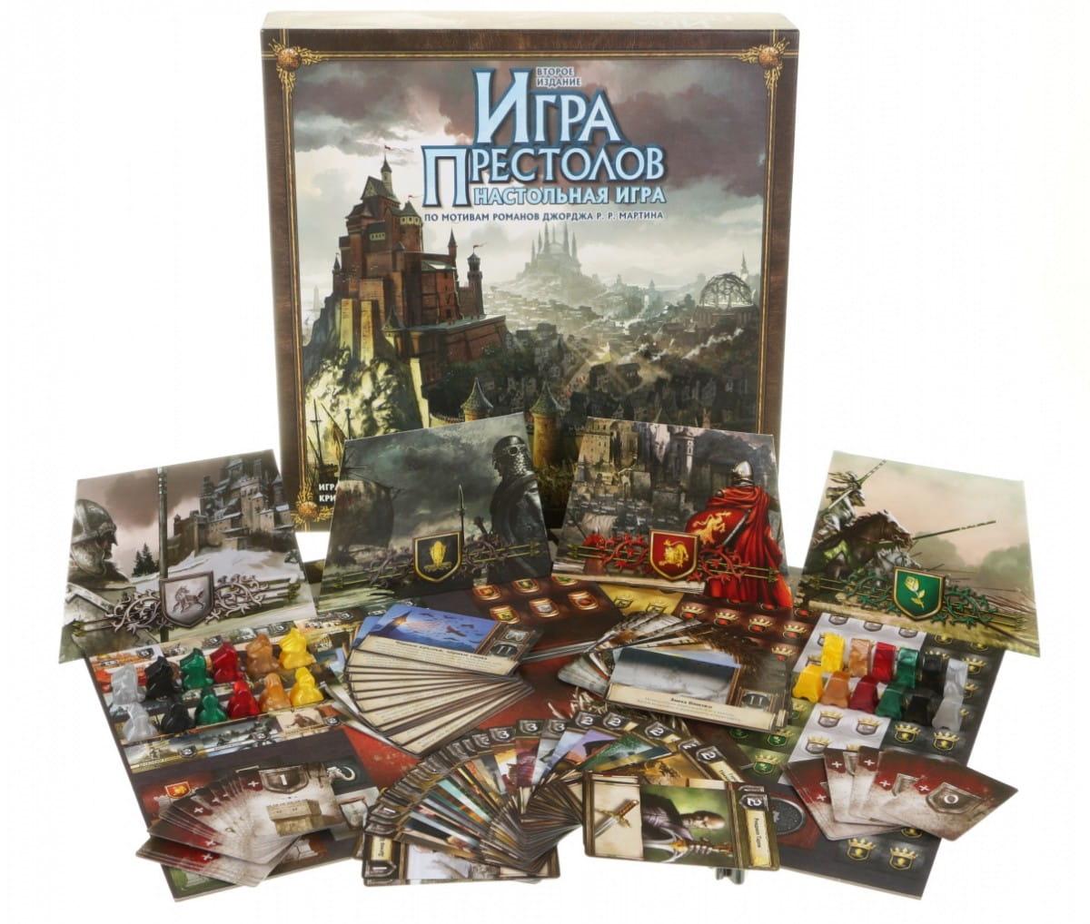 Настольная игра Hobby World Игра престолов (2-е издание)