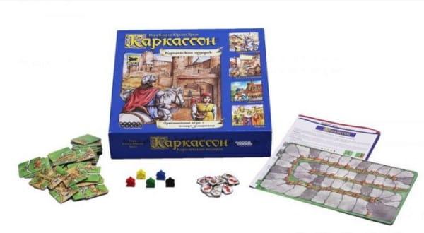 Настольная игра Hobby World 1087/1963 Каркассон - Королевский подарок