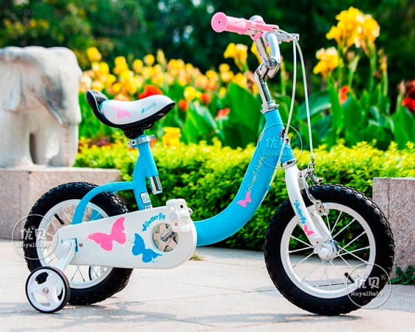 Купить Детский Велосипед Royal Baby Butterfly Steel - 18 дюймов в интернет магазине игрушек и детских товаров