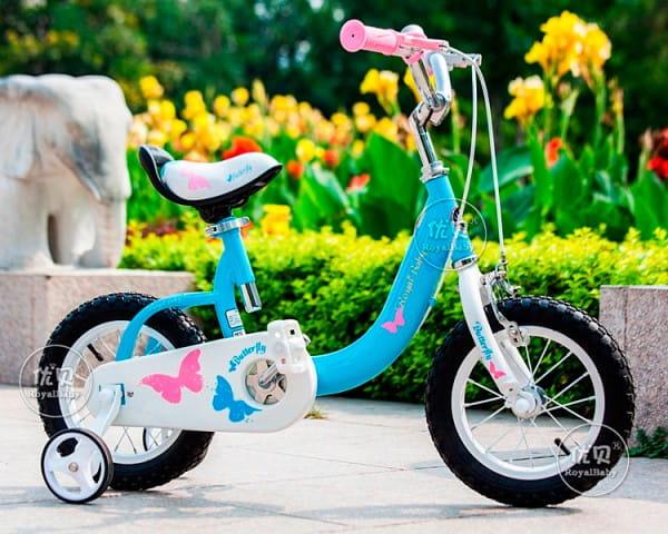 Купить Детский Велосипед Royal Baby Butterfly Steel - 12 дюймов в интернет магазине игрушек и детских товаров