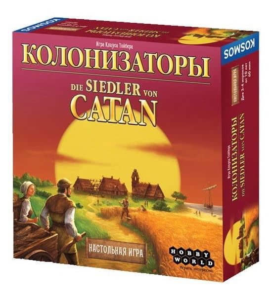 Купить Настольная игра Hobby World Колонизаторы базовые в интернет магазине игрушек и детских товаров