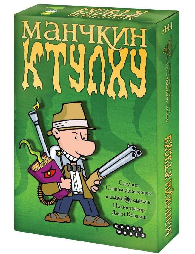 Настольная игра Hobby World 1119/1939 Манчкин - Ктулху