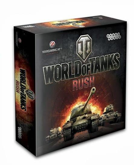 Настольная игра Hobby World World of Tanks Rush