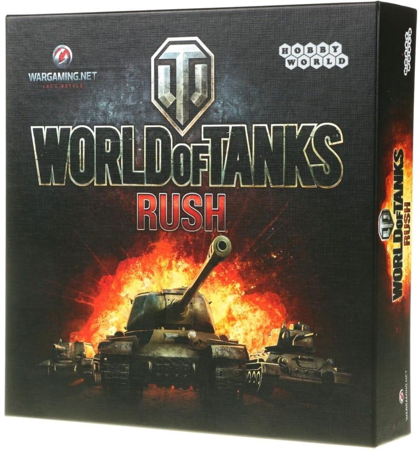 Настольная игра Hobby World 1123/1341 World of Tanks Rush
