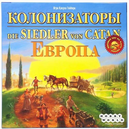 Купить Настольная игра Hobby World Колонизаторы - Европа в интернет магазине игрушек и детских товаров