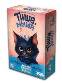 Купить Настольная игра Hobby World Тише, мыши в интернет магазине игрушек и детских товаров