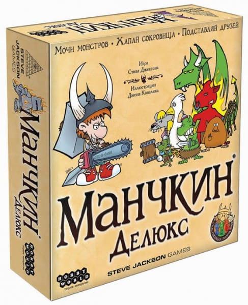 Настольная игра Hobby World 1153 Манчкин Делюкс