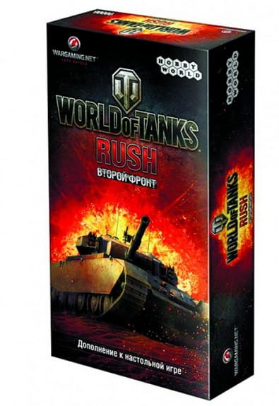 Настольная игра Hobby World World of Tanks Rush Второй Фронт