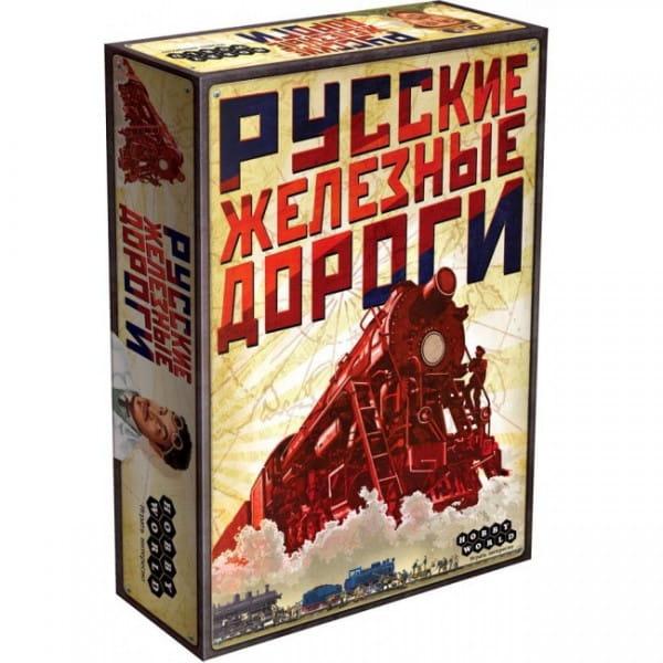 Настольная игра Hobby World 1196 Русские Железные Дороги