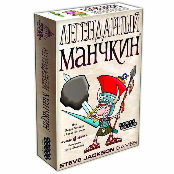 Настольная игра Hobby World 1200 Легендарный Манчкин