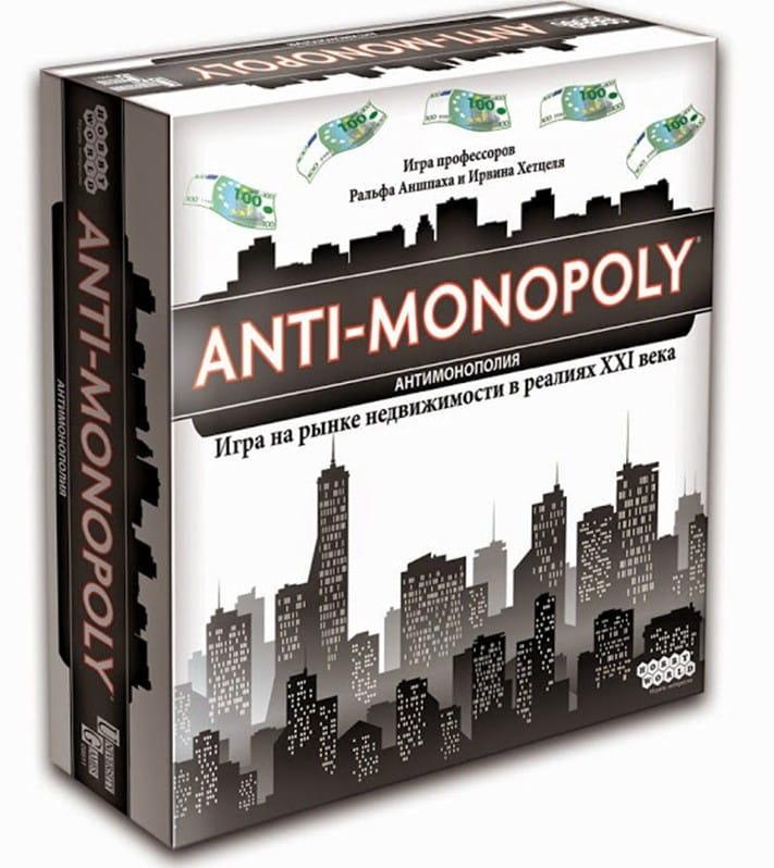 Настольная игра HOBBY WORLD Антимонополия - Монополия