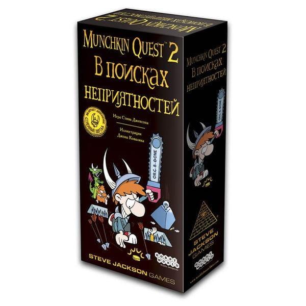 Настольная игра Hobby World Манчкин Квест-2 В Поисках Неприятностей