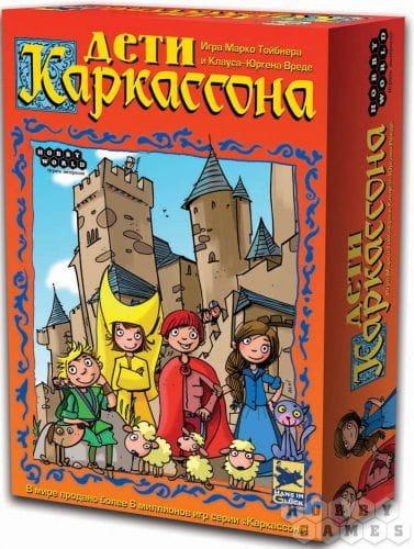 Настольная игра Hobby World 1989/1096 Дети Каркассона