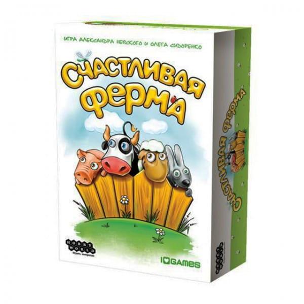 Купить Настольная игра Hobby World Счастливая ферма в интернет магазине игрушек и детских товаров
