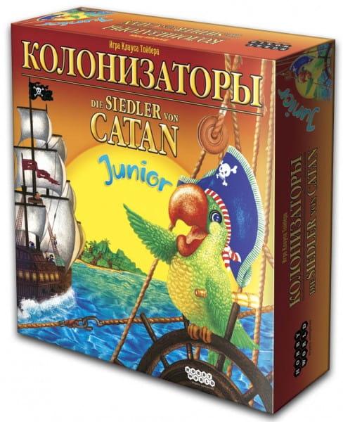 Купить Настольная игра Hobby World Колонизаторы Junior в интернет магазине игрушек и детских товаров