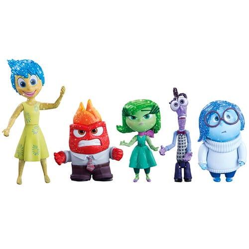 Купить Игровой набор Inside Out 5 фигурок в интернет магазине игрушек и детских товаров