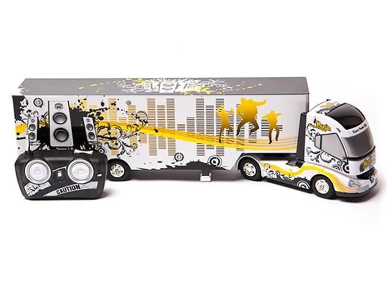 Радиоуправляемая фура RUI CHUANG 6 CH Truck QY0201A 1:32