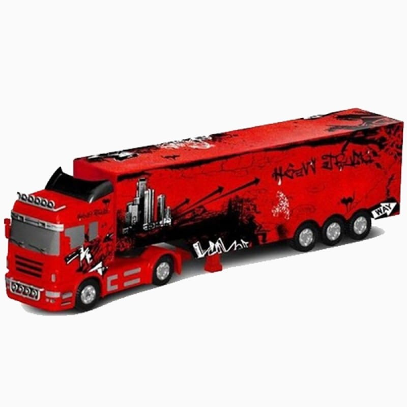 Радиоуправляемая фура RUI CHUANG 6 CH Truck QY0202B 1:32