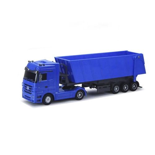 Радиоуправляемый грузовик Rui Chuang QY1101C-B Mercedes-Benz 6 CH 1:32 - синий