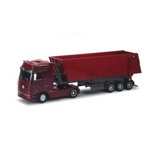 Радиоуправляемый грузовик Rui Chuang Mercedes-Benz 6 CH 1:32 - красный