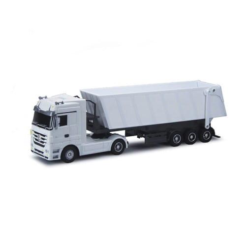 Радиоуправляемый грузовик Rui Chuang Mercedes-Benz 6 CH 1:32 - белый