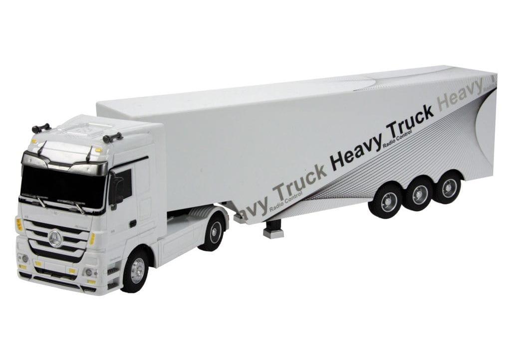 Радиоуправляемый грузовик Rui Chuang QY1101C-W Mercedes-Benz 6 CH 1:32 - белый